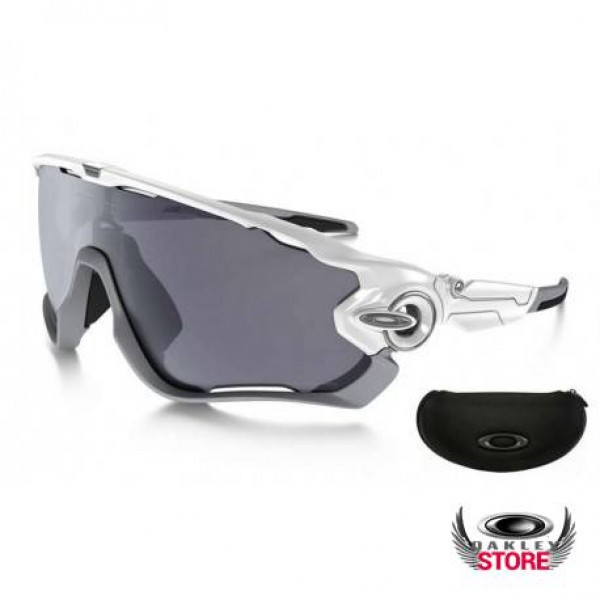 5bfa6c2f929 Fake Oakley Jawbreaker Custom Polished White   Black Iridium ...