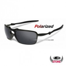 5ebf0cebb21 Fake Oakley Badman Dark Carbon   Black Iridium Pol.