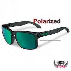 cheap fake oakley holbrook sunglasses  fake oakley holbrook black ink / jade iridium pola.