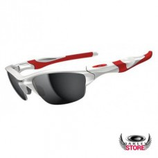 oakley half jacket xlj sunglasses sale  fake oakley half jacket 2.0 polished white / black iridium