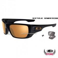 226c590bd87 Fake Oakley Style Switch Matte Black   Dark Bronze + Warm Grey